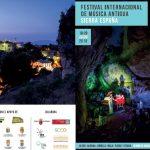 cartel del festival de música antigua en sierra espuña