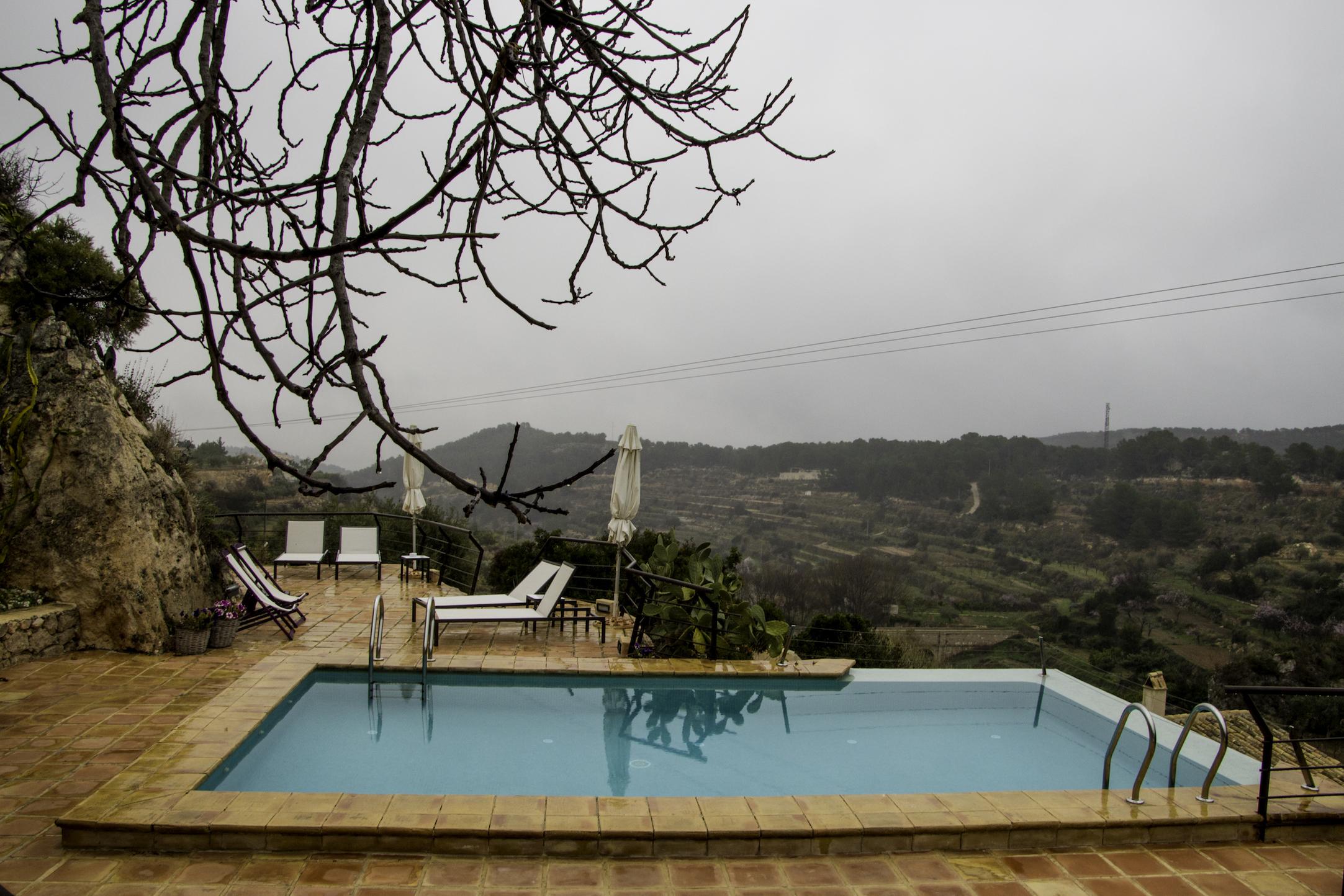 casa con vistas en territorio sierra espuña