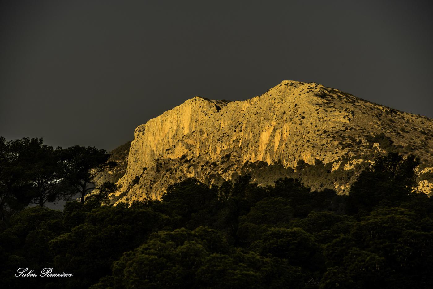 paisaje territorio sierra espuña